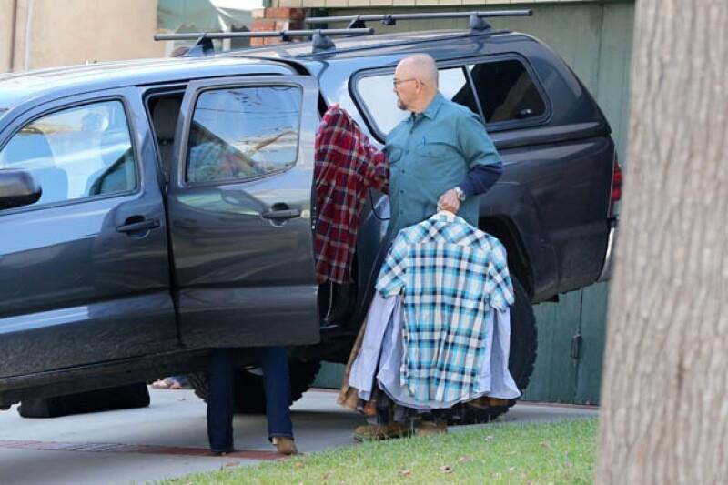 Familiares del actor se reunieron para desocupar la casa en la que vivía en Santa Bárbara.