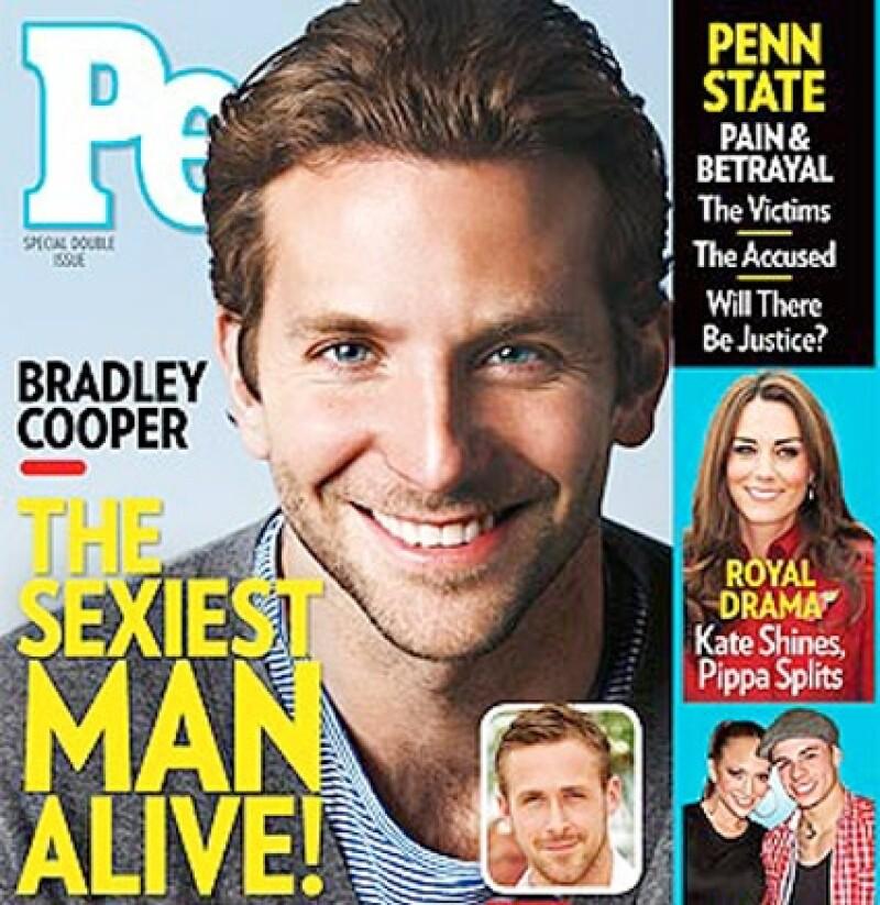 Bradley Cooper es el hombre más sexy de este año.