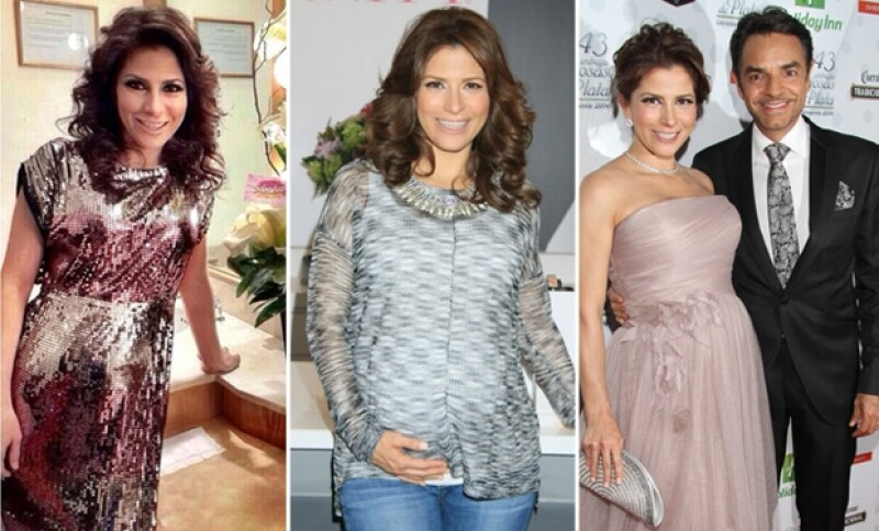 Alessandra ha vivido su embarazo muy feliz y al lado de Eugenio en todo momento.
