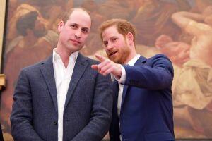 Príncipes Harry y William