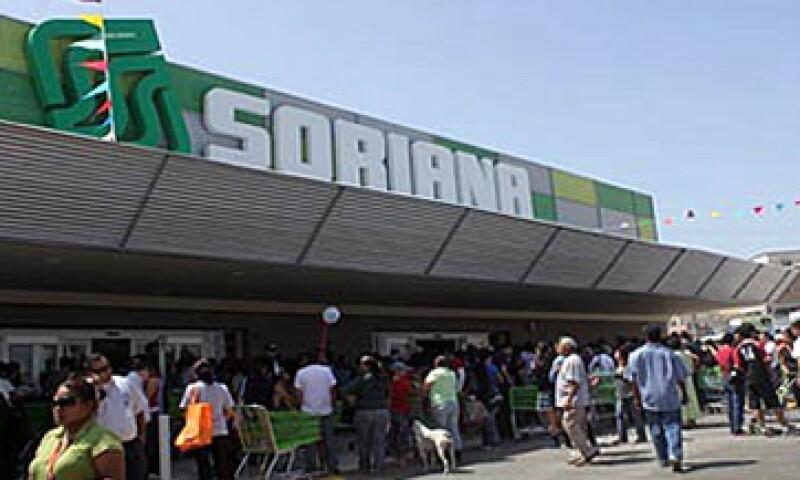 Soriana abrió 52 tiendas en 2011, para sumar 609 unidades. (Foto tomada de soriana.com)