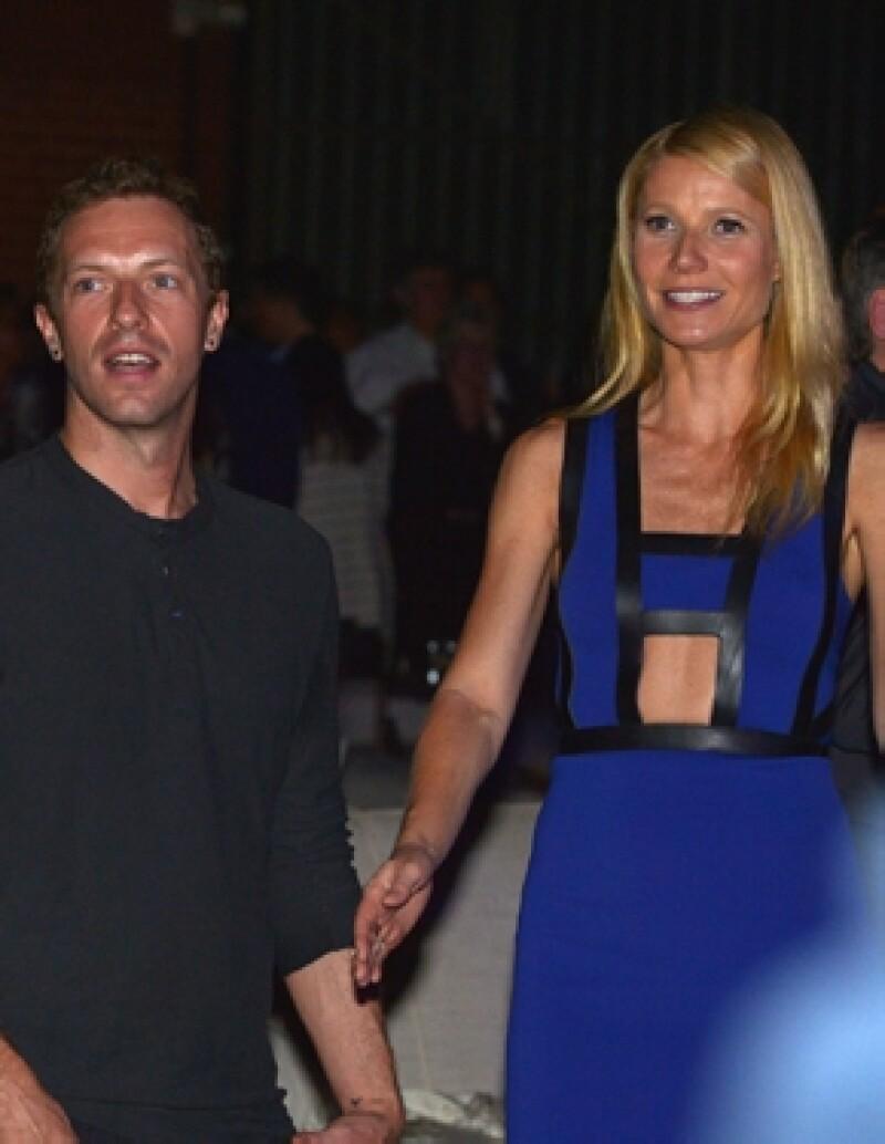 Tras el rompimiento de Chris con Jennifer Lawrence, Gwyneth Paltrow le demostró su cariño llenándolo de elogios durante una velada.