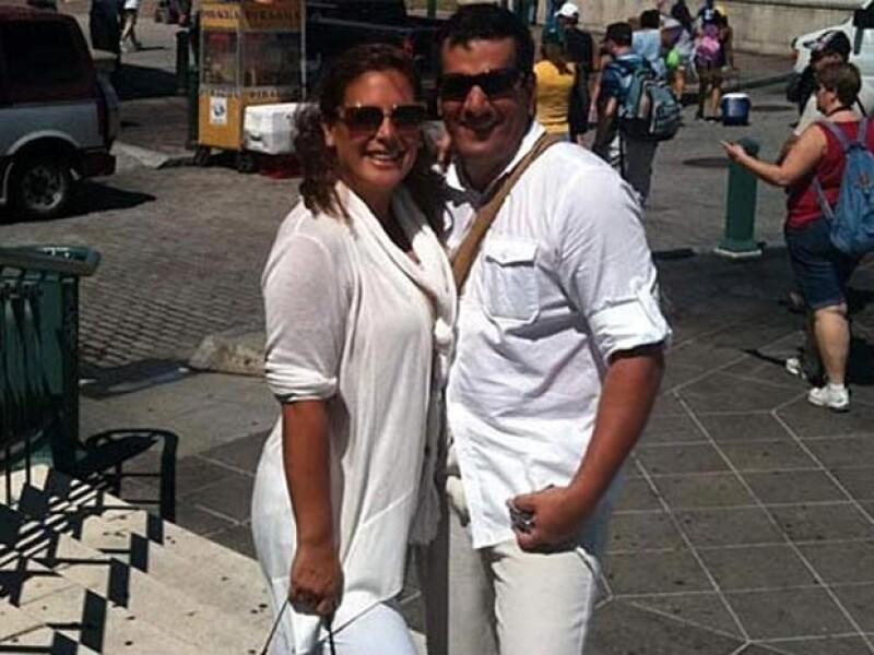Angélica Vale y Otto Padrón se escaparon a Puerto Rico tras su enlace matrimonial.