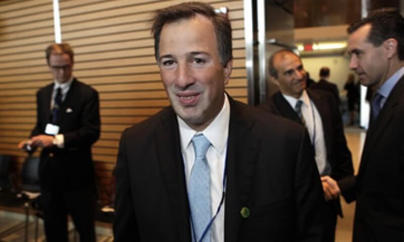 El secretario José Antonio Meade dijo que el apoyo económico acordado para el FMI creará un adecuado cortafuego. (Foto: Reuters)