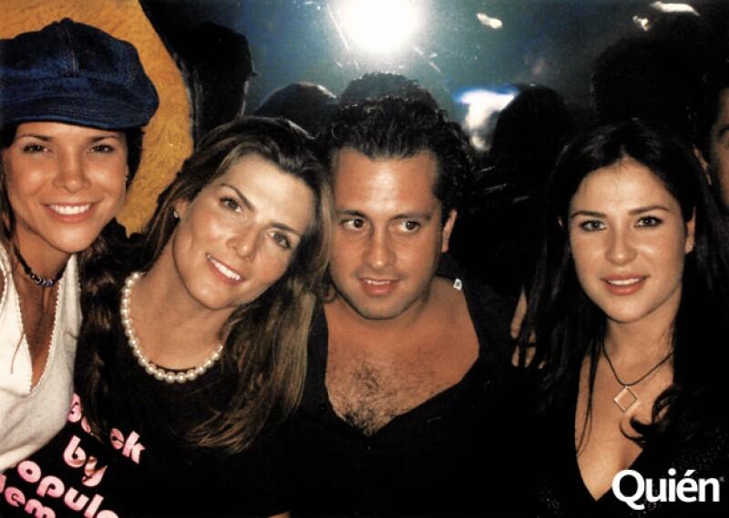 Arleth Terán, Montserrat Oliver, Ernesto Zedillo.