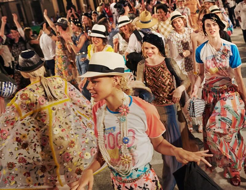Este desfile de Chanel coincide con un momento histórico de la Isla.