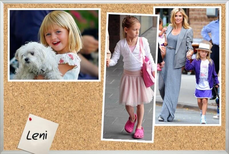 Leni es tan bella como su madre Heidi Klum.