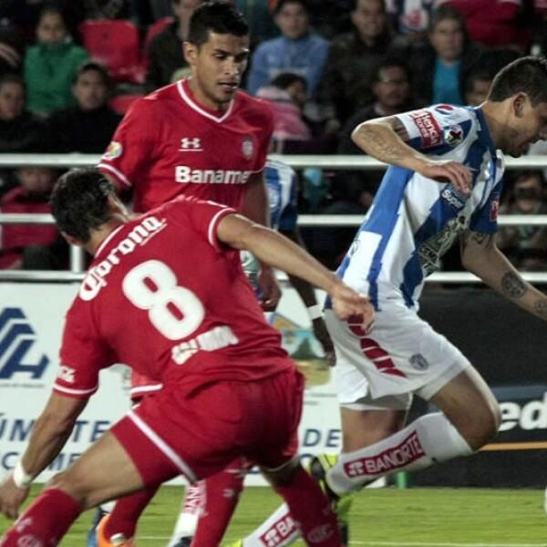 Toluca ganó como visitante 1-0 a los 'Tuzos' de Pachuca