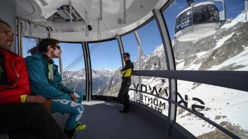 Skyway Monte Bianco, Courmayeur, Italia