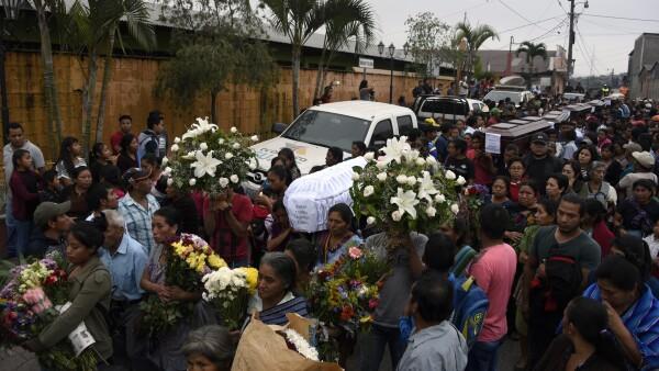 La erupción del Volcán de Fuego de Guatemala ha dejado decenas de muertos
