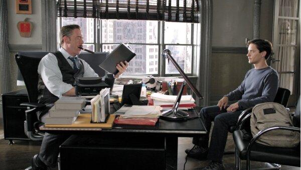 J. Jonah Jameson y Peter Parker
