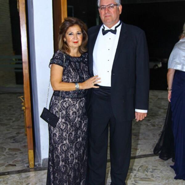 Marcela Purata y Sergio Purata