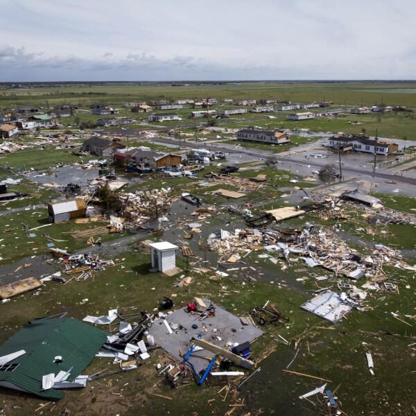 Un huracán mayor