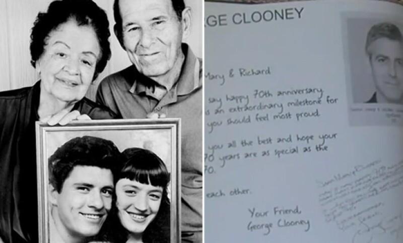 La nieta de la pareja estadounidense Richard y Mary Arámbula pidió una felicitación para sus abuelos a todos los famosos que admiran y esto fue lo que sucedió.