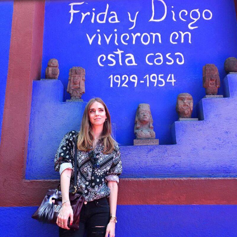 Continuando su paso por México, la famosa fashion blogger italiana publicó varias imágenes en su Instagram en las que deja ver lo enamorada que está del país.