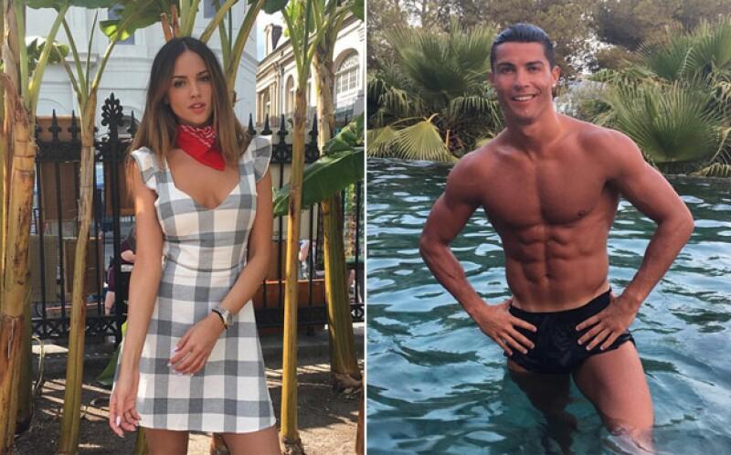Los dos famosos han coincidido en Europa, donde ella se encuentra desde principios de julio.