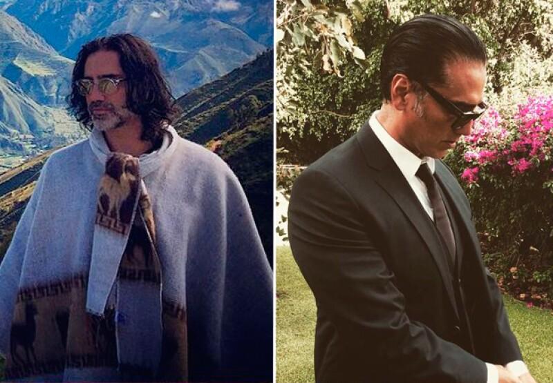 Desde hace algunos meses, Alejandro Fernández lucía un estilo largo.