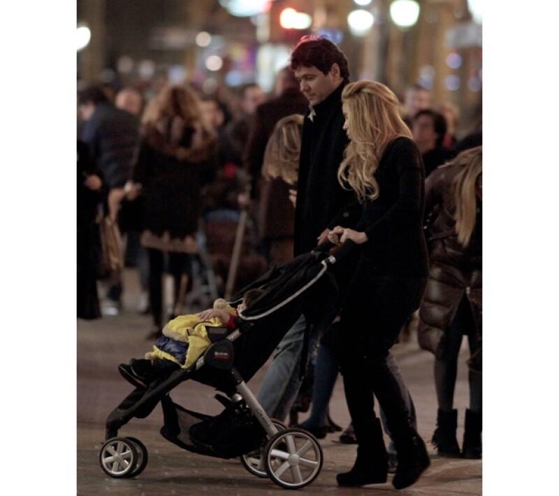 El hermano de Shakira, Edward Mebarak está de visita por tierras catalanas para visitar a su hermana y su familia.