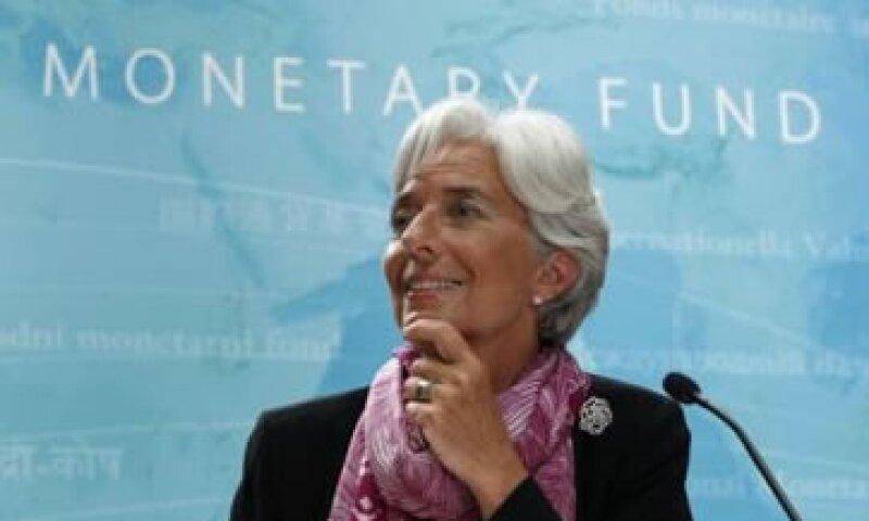 Lagarde dijo que las cosas están mejorando en comparación con 2009. (Foto: Reuters)