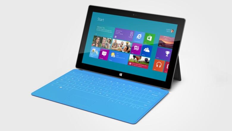 El 'gadget' está fabricado con un material llamado 'VaporMg', el cual es ligero de transportar pero resistente a los golpes, dice Microsoft.