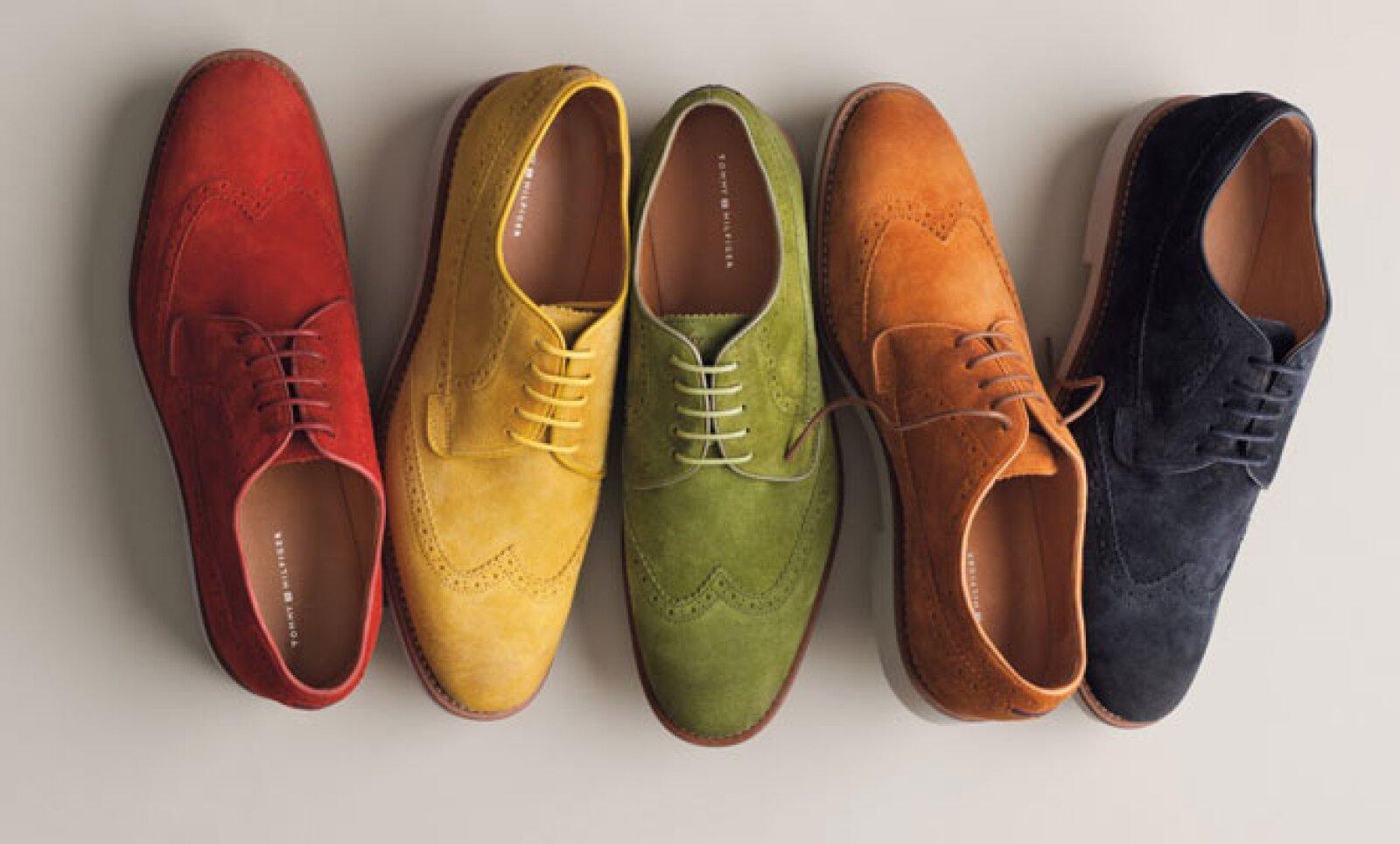 Si lo prefieres, estas opciones fabricadas en gamuza también pueden ayudar a resaltar tu estilo.