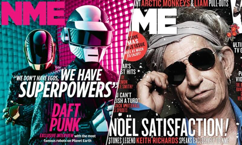 Daft Punk y Keith Richards