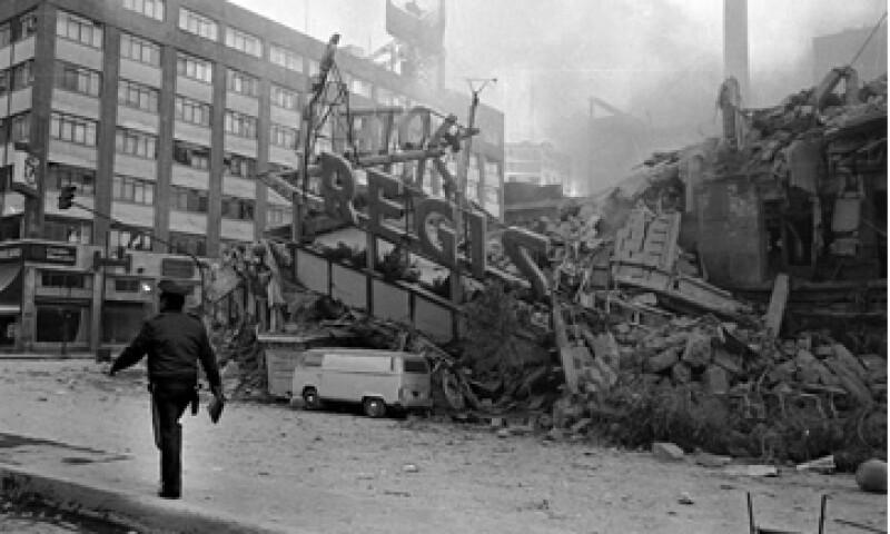Los daños causados por el terremoto de 1985 representaron pérdidas por 4.1 millónes de dólares. (Foto: Cuartoscuro )