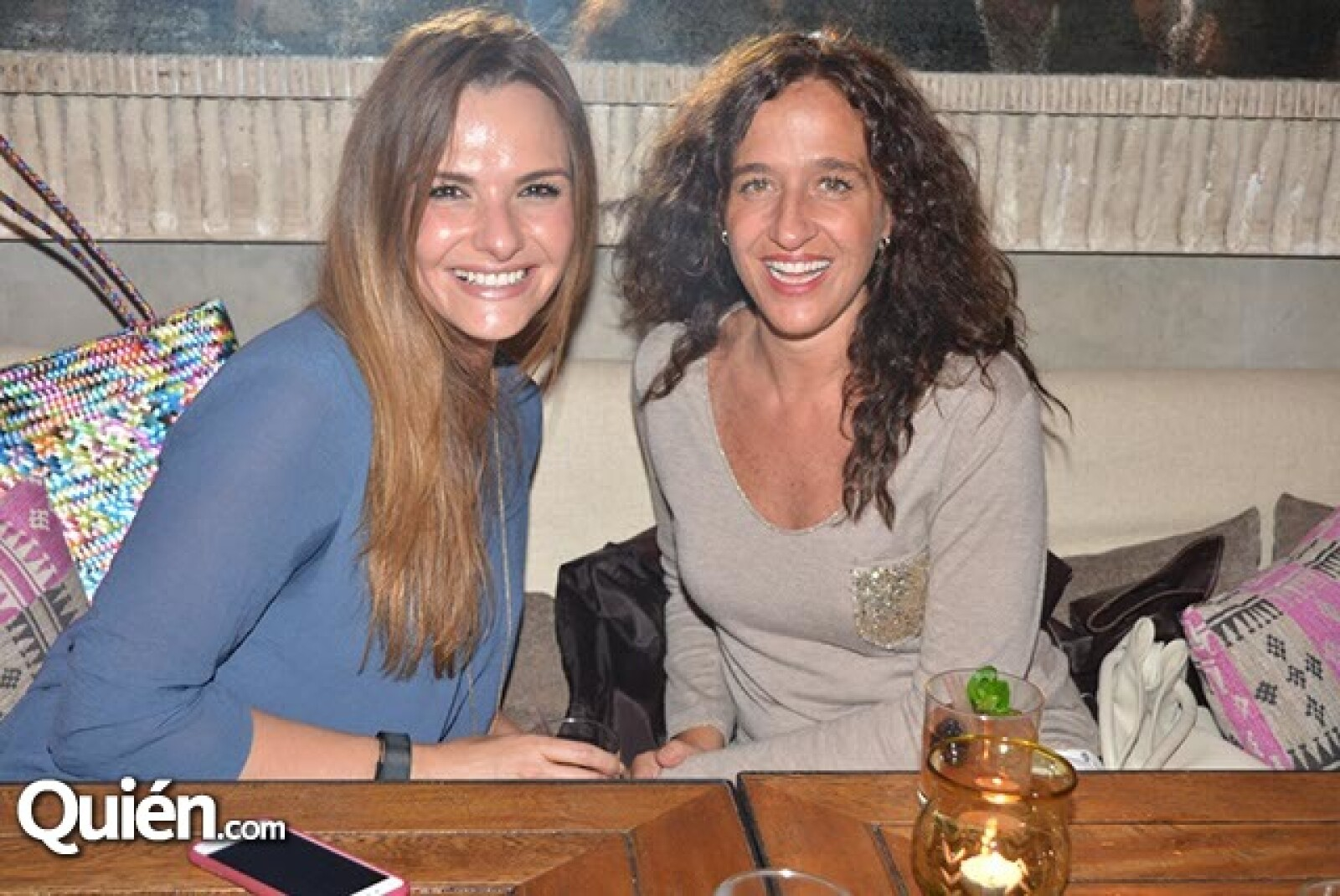 Alejandra Cano y Mariana Braun.