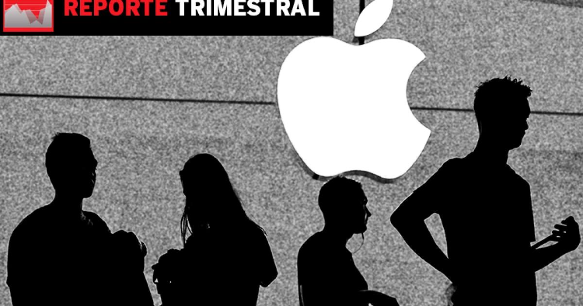 La venta de iPhone es, de nuevo, la joya de este trimestre para Apple
