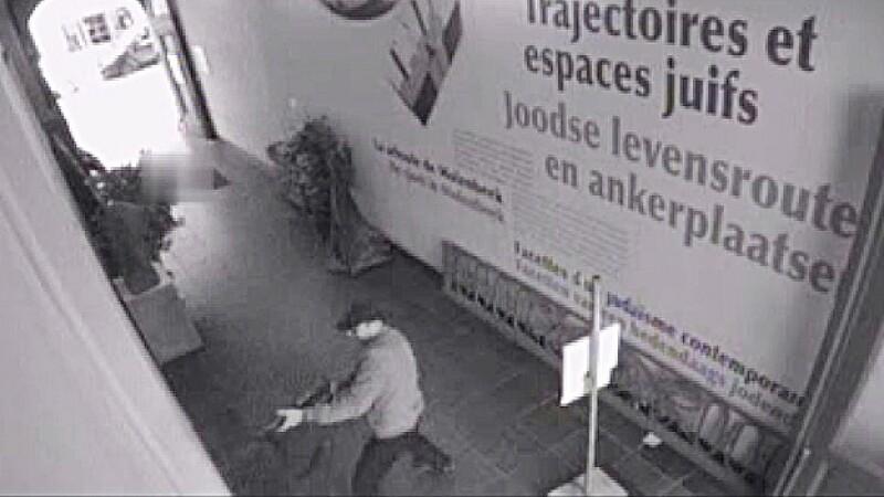 Atacante en el Museo Judío de Bruselas
