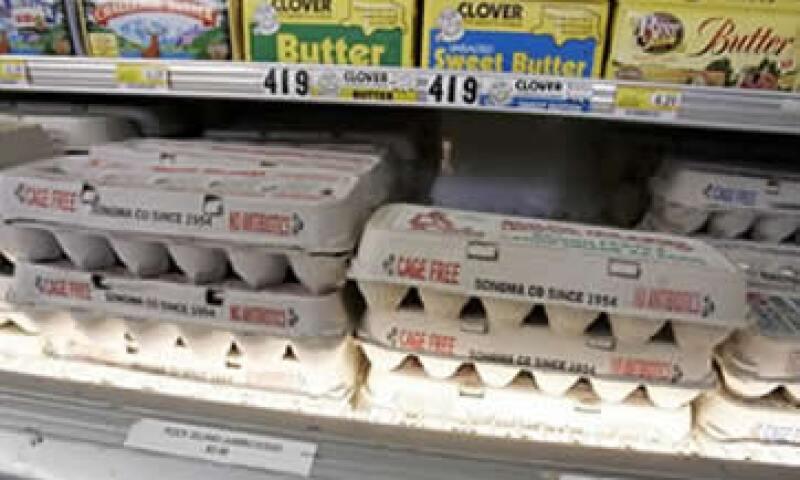 En México, el 15% de la comercialización del huevo se da a través de los autoservicios y el 85% restante en los canales tradicionales. (Foto: Archivo)