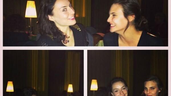 """Ambas actrices residen en México, pero a finales de marzo emprendieron el viaje para grabar """"Sitiados"""", la nueva serie de FOX, ahí estrecharon lazos."""