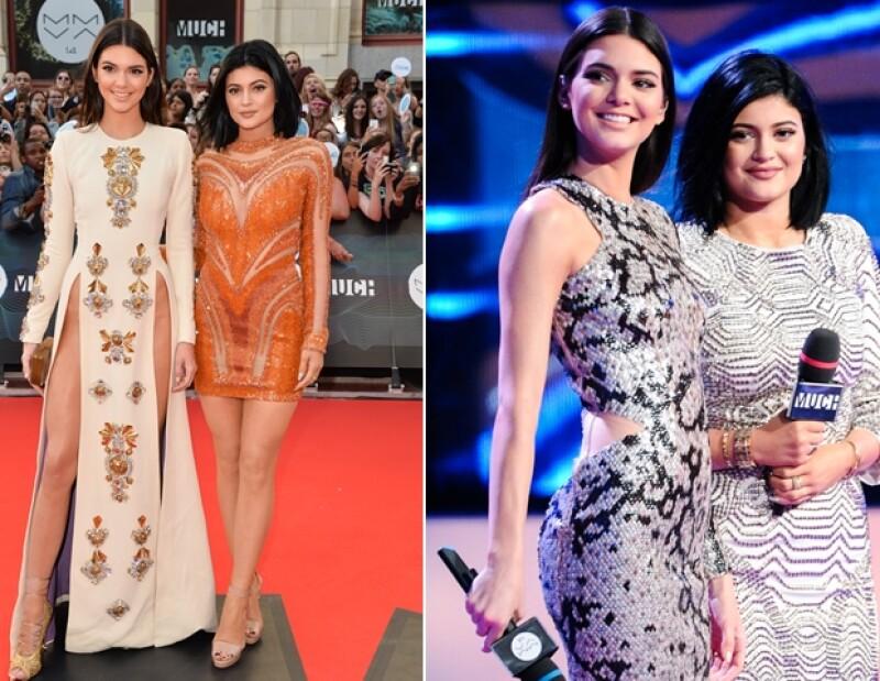 Ayer por la noche en los Much Music Video Awards las pequeñas de las Kardashian dieron mucho de qué hablar con sus vestidos pero fue la mayor de las hermanas quien reveló más de la cuenta.