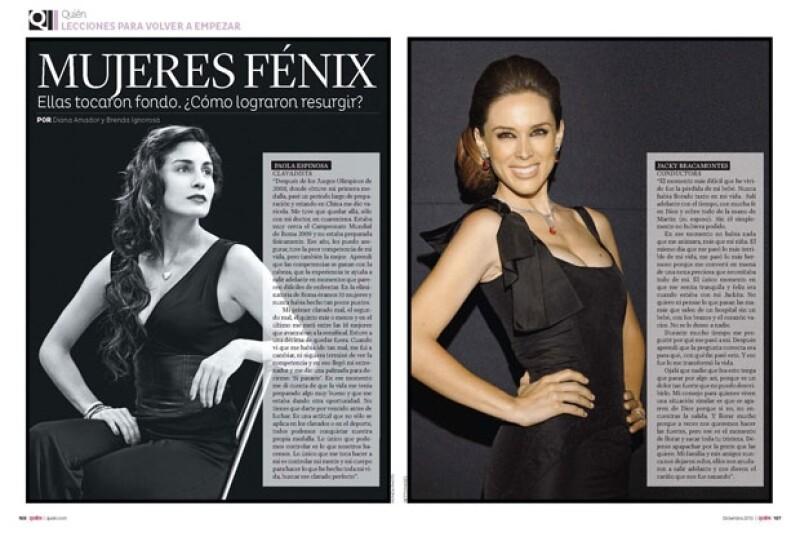 Paola Espinosa, Jacky Bracamontes y Salma Hayek, entre otras historias de mujeres que vencieron la adversidad.