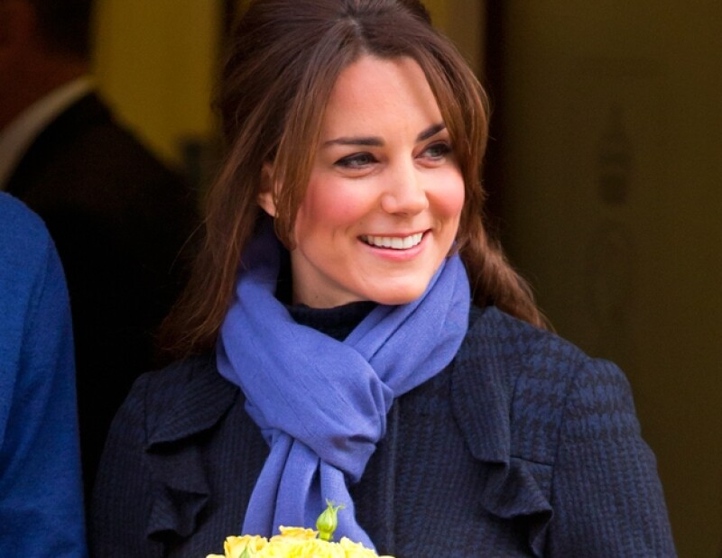 La sonrisa de Kate Middleton es de sus grandes atributos.