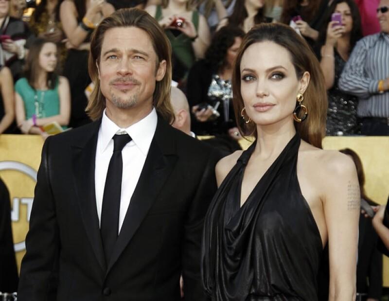 Brad Pitt y Angelina podrían estar a un paso pero del altar, ya que sus hijos quisieran verlos casados.