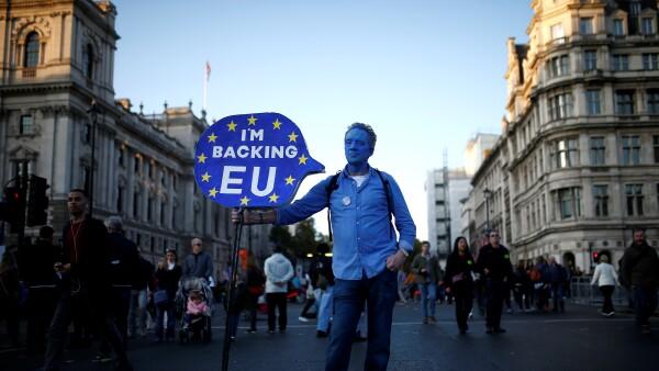 Brexit Manifestación