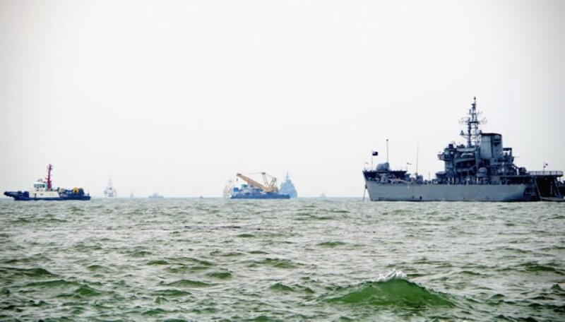 marina Corea del Sur buques