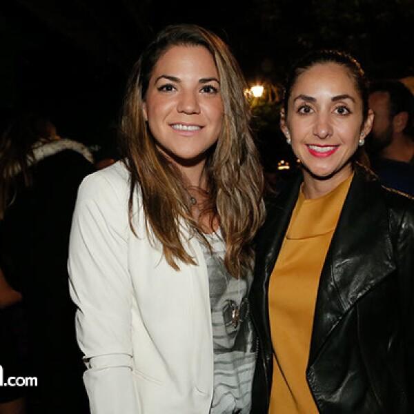 Elizeth Serna y Cinthia Carmona
