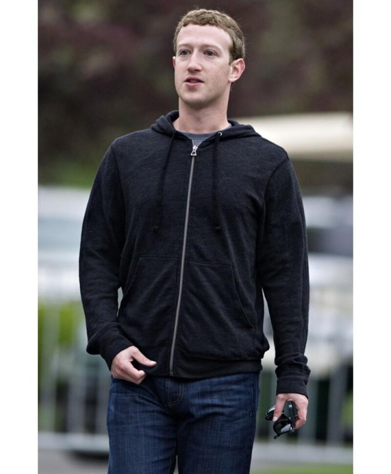 El CEO de Facebook es uno de los 20 jóvenes más ricos del mundo.
