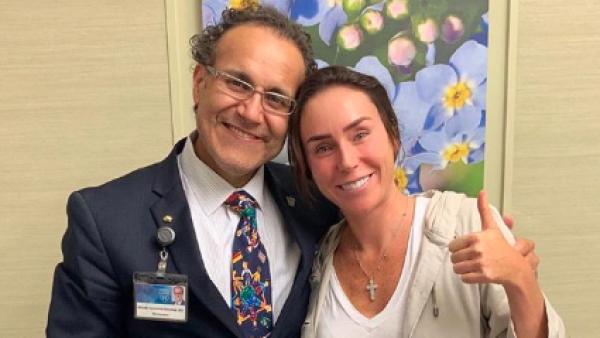 Dr. Alfredo Quinones e Inés Gómez Mont