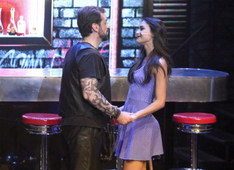 Melissa se integró al musical cuando se encontraba en grabaciones de la telenovela Siempre Tuya Acapulco en 2014.