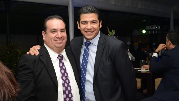 Eduardo Mota y Gerardo Castillo de Grupo INFRA