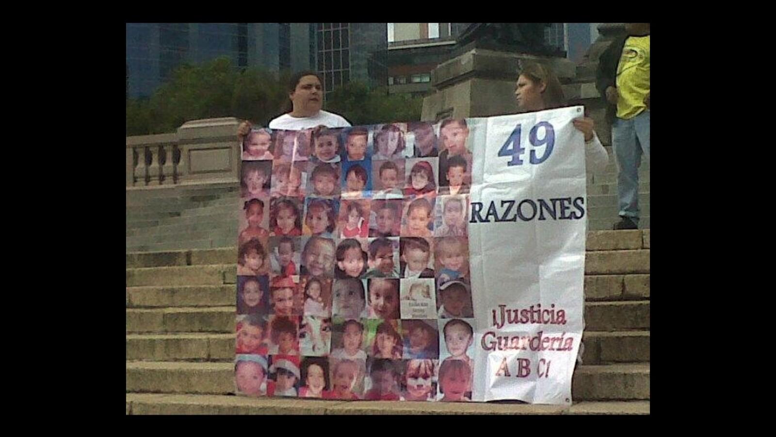 manifestacion en el angel de la independencia