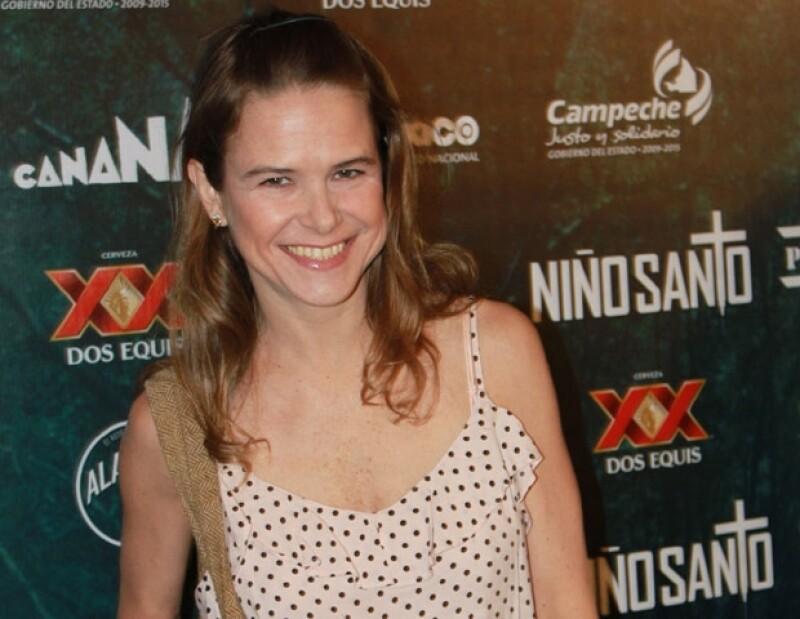 Nailea Norvind también filmó un cortometraje en Monterrey y regresará al teatro.