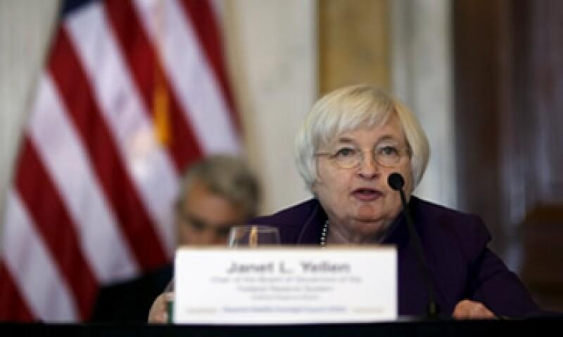 La entidad presidida por Janet Yellen dejó si cambios su tasa de interés.(Foto: Reuters )