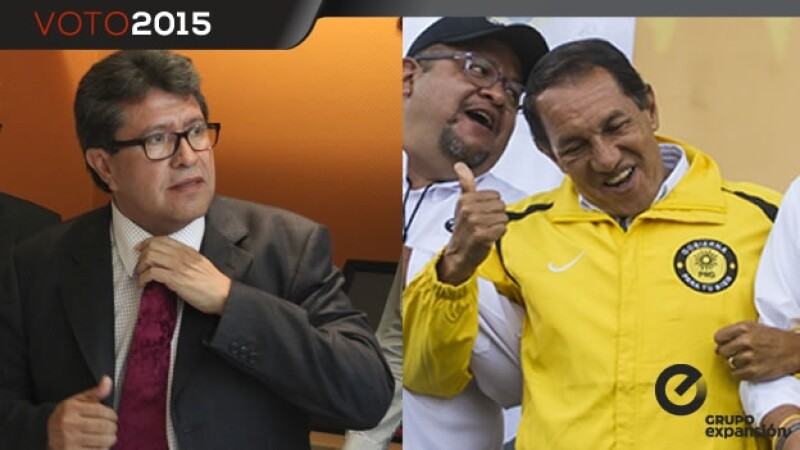 Monreal y Muñoz candidatos de Cuauhtémoc