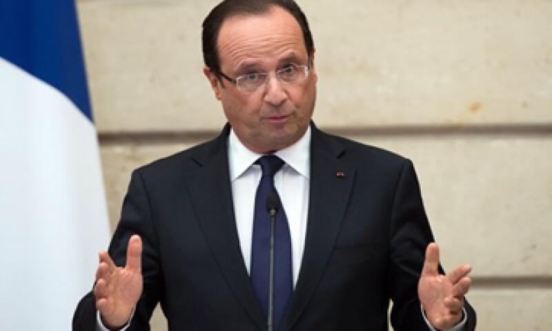 El presidente de Francia, François Hollande, dijo que en su segundo año al frente del país se enfocará en el desempleo.   (Foto: Reuters)