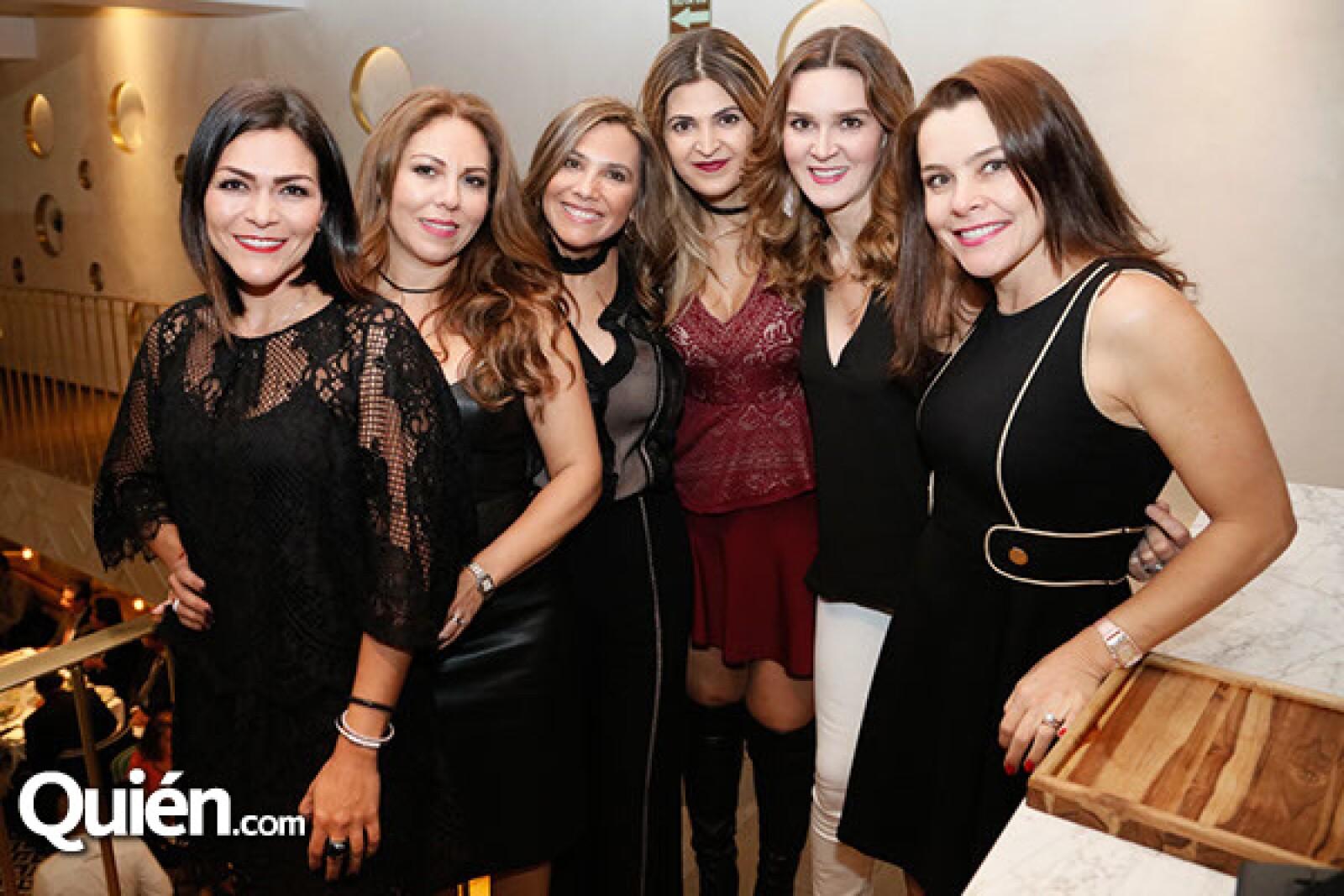 Patricia Boullosa, Nora Gutierrez, Edith Pacheco, Silvia Isla, Sofía Castro y Claudia González