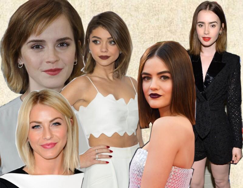 Emma Watson, Sarah Hyland, Lily Collins, Julianne Hough y Lucy Hale también se han declarado fanáticas del bob.